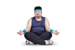 overweight-man-doing-meditation-isolated-white-background-42230082